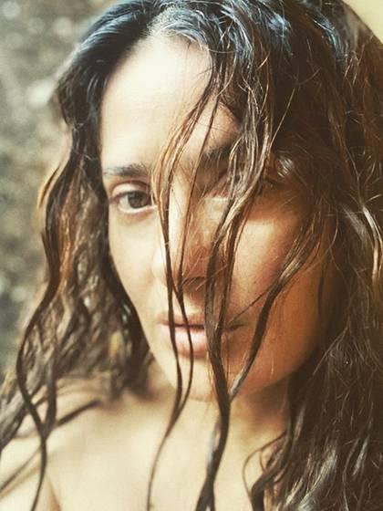 La más reciente foto al natural de Salma Hayek (IG: salmahayek)