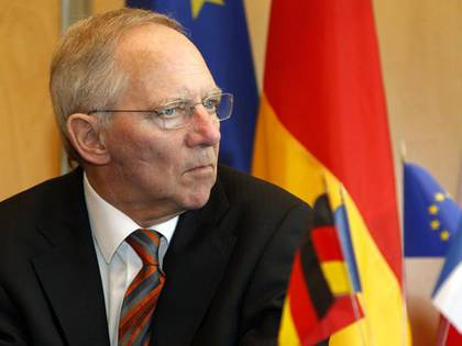 Ministro alemán Wolfgang Schauble
