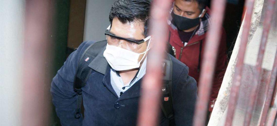 El juez Huacani fue detenido el viernes pasado. APG Noticias