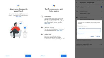 La verificación por comandos de voz se activa del modo que se muestra en el gráfico (Android Police)