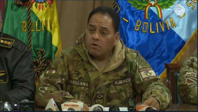 Ministro de Defensa acusa a Evo Morales de 'convulsionar' a Bolivia