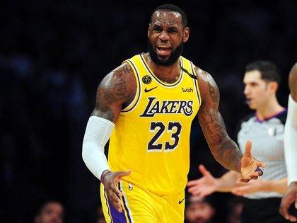 LeBron James es uno de los jugadores que quiere que regrese la NBA (Gary A. Vasquez-USA TODAY Sports)