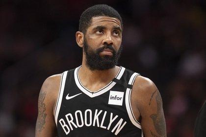 Kyrie Irving sería el hombre que impulsaría un boicot de los jugadores para cancelar lo que resta de la temporada de la NBA (Tommy Gilligan-USA TODAY Sports)