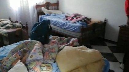 Vivían en condiciones de hacinamiento y hasta debieron mendigar para subsistir (Foto: Guardia Civil)