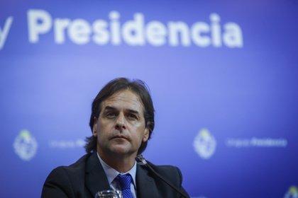 El presidente de Uruguay, Luis Lacalle Pou (EFE)