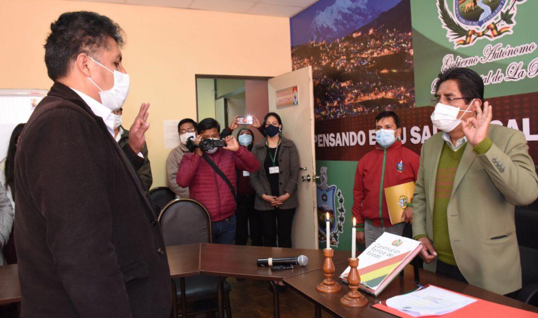 En plena subida de casos en La Paz, vuelve la pugna política por ...