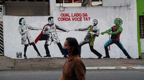 Brasil confirma 17.110 nuevos casos de infección y 612 muertes por covid-19 en un día