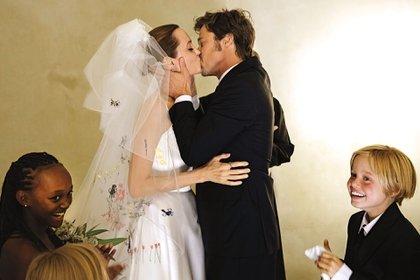 Los actores se casaron en Francia en 2014