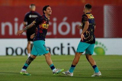 Messi se sacó la barba y dejó crecer su pelo (Foto: Reuters)