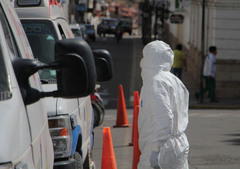 La falta de insumos de bioseguridad frena la toma de muestras de coronavirus en Chuquisaca