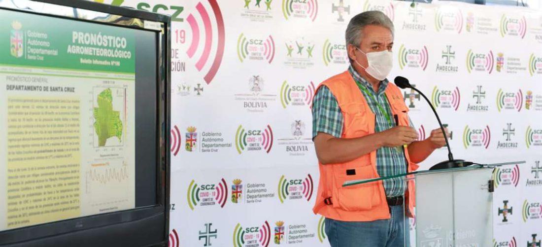 Alpire informó sobre el clima en una conferencia.
