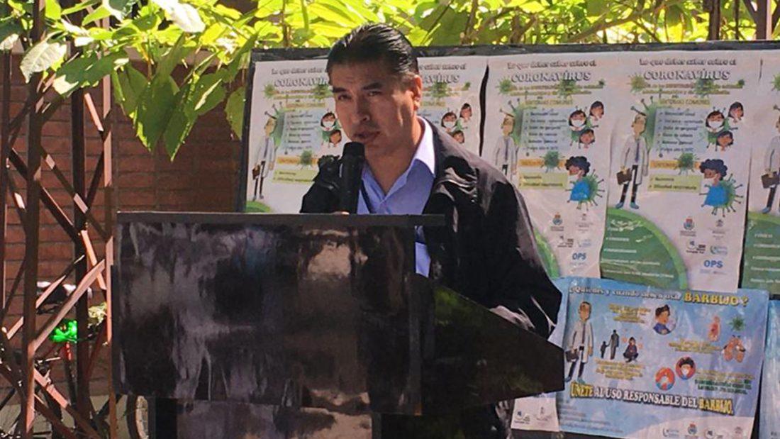 Rubén Castillo, jefe de la Unidad de Epidemiología del SEDES. Foto: Opinión