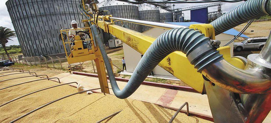 Los agricultores entregaron el grano a las diferentes industrias; ambos actores de la actividad arrastran problemas de liquidez por el Covid-19. Foto: Gabriel Vásquez