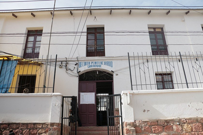 Penal de San Roque Foto: Correos del Sur
