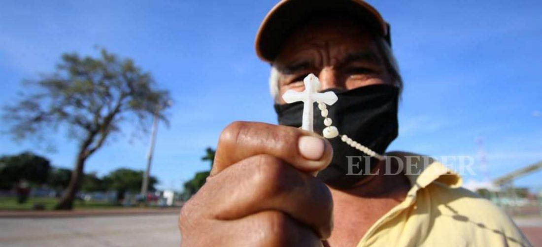La fe de parte de la población ha acompañado durante 100 días esta guerra contra el coronavirus. Foto: Ricardo Montero