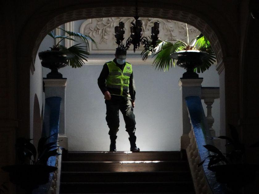 Fallece el primer policía por covid-19 en Chuquisaca