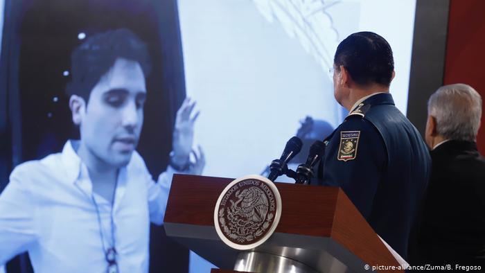 Mexiko PK Obrador Gescheiterte Festnahme Ovidio Guzmán (picture-alliance/Zuma/B. Fregoso)