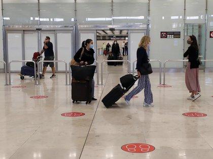Terminal 4 del Aeropuerto de Madrid-Barajas Adolfo Suárez (EFE/JJ Guillén/Archivo)