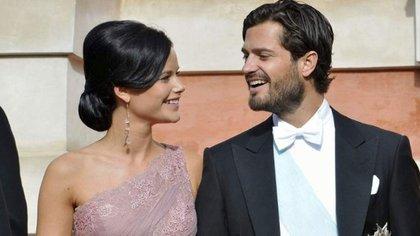 Sofía Hellqvist y el príncipe Carlos Felipe