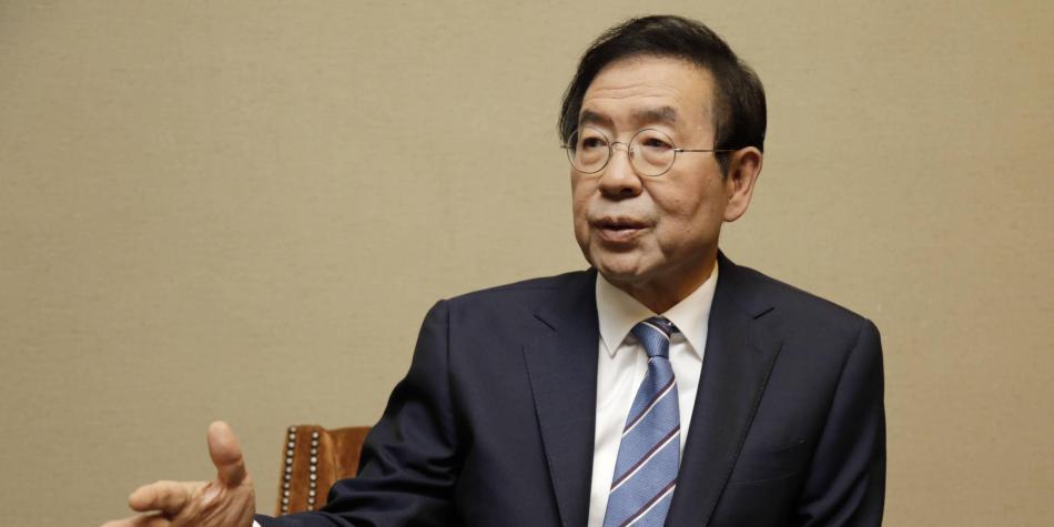 Encuentran cuerpo sin vida del alcalde de Seúl en Corea del Sur