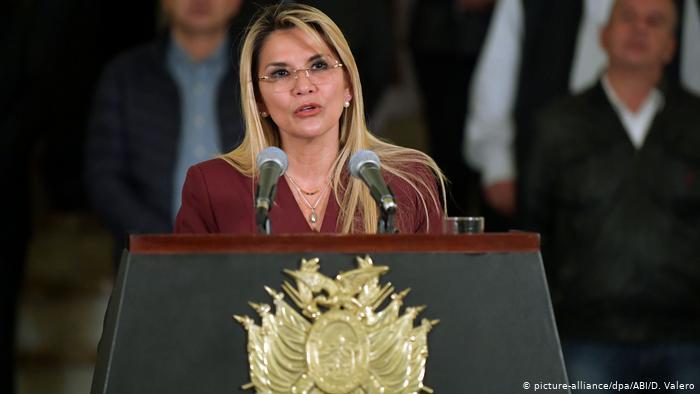 Evo Morales responsabiliza al Gobierno de Jeanine Añez por su persecución política. (picture-alliance/dpa/ABI/D. Valero)