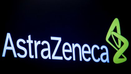 Logo de la compañía farmacéutica AstraZeneca. Foto: REUTERS/Brendan McDermid