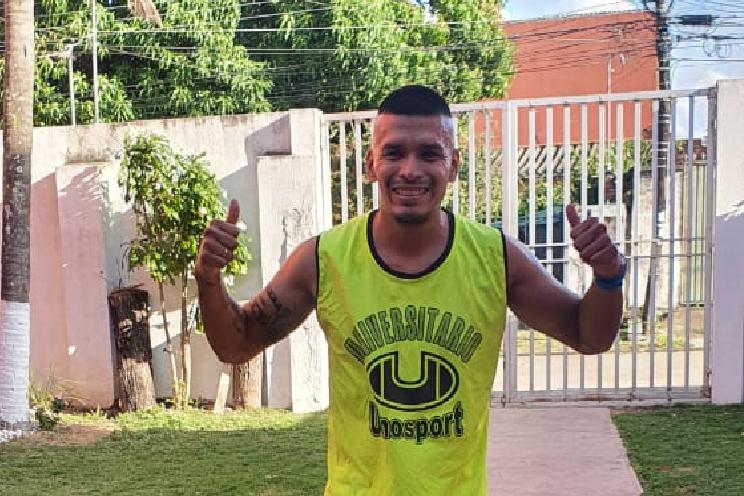 Marcos Andia ya entrena tras superar el Covid-19