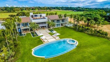 """Una de las villas privadas de """"Casa de Campo"""", en República Dominicana"""