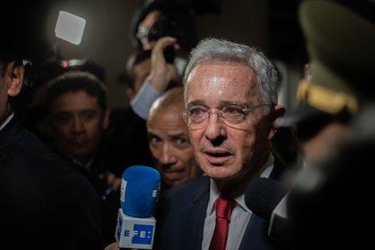 Álvaro Uribe Vélez, ex presidente de Colombia (2002-2010) (EFE/Juan Zamara)