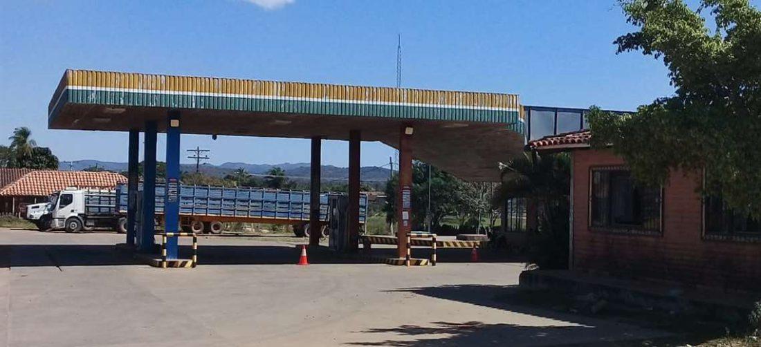 En el único surtidor de San Javier no hay combustible