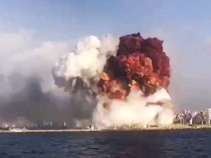 La enorme detonación fue registrada por el Sistema Internacional de Vigilancia (SIV) de la ONU (EFE/EPA)