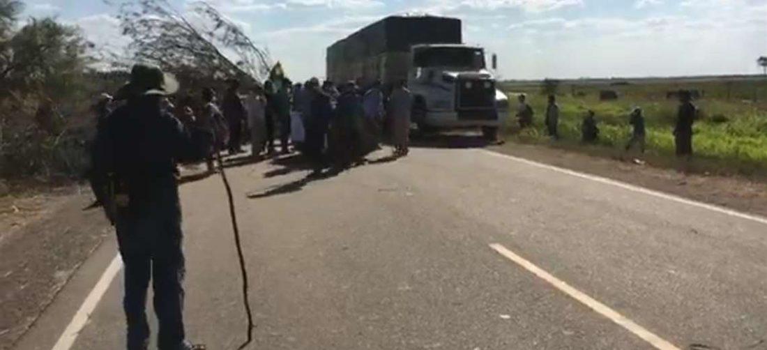 Ruta Bioceánica expedita tras bloqueo en Tunás