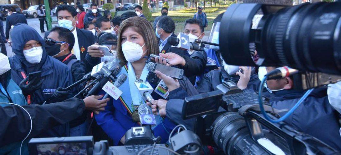 Esther Soria, gobernadora de Cochabamba/Foto: Gobernación