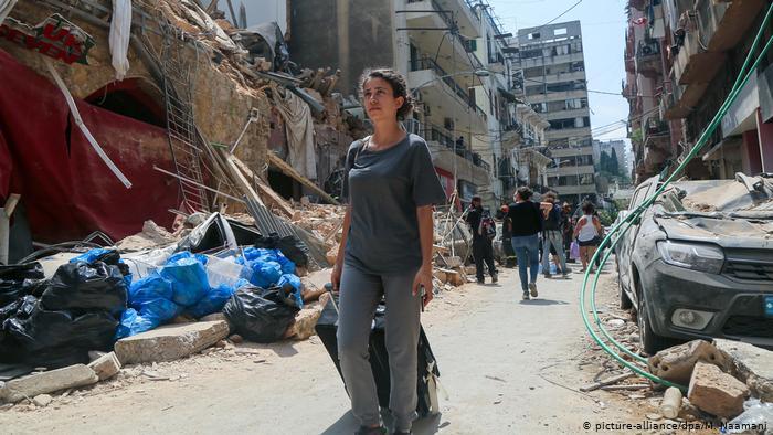 Libanon nach Explosion in Beirut