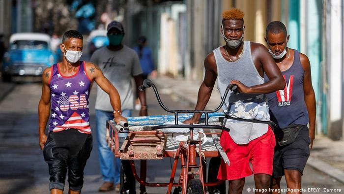 Kuba Corona-Pandemie | Havanna (Imago Images/Agencia EFE/Y. Zamora)