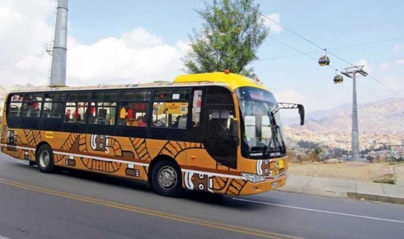 Con esta nueva flota de buses se prevé que el próximo año se tengan más de 10 rutas en funcionamiento.