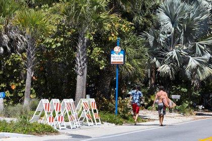 Florida es el segundo estado con más contagios de COVID-19 (Foto: REUTERS/Eve Edelheit)