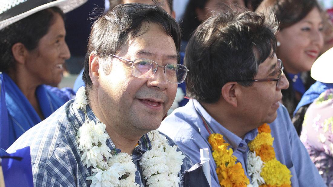 Luis Arce, candidato a la presidencia por el MAS. ARCHIVO