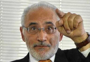 Carlos Mesa, denunciante ante la Fiscalía.