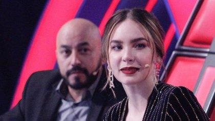 Belinda pareció confirmar que nunca anduvo con Lupillo Rivera (IG: lavozazteca)