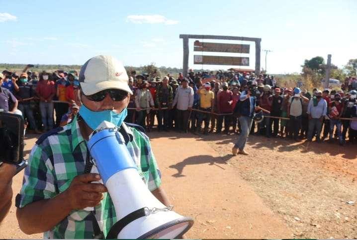 Los bloqueos permanecen en cuatro provincias, en la zona de Santa Rosa (foto) logró ser despejado