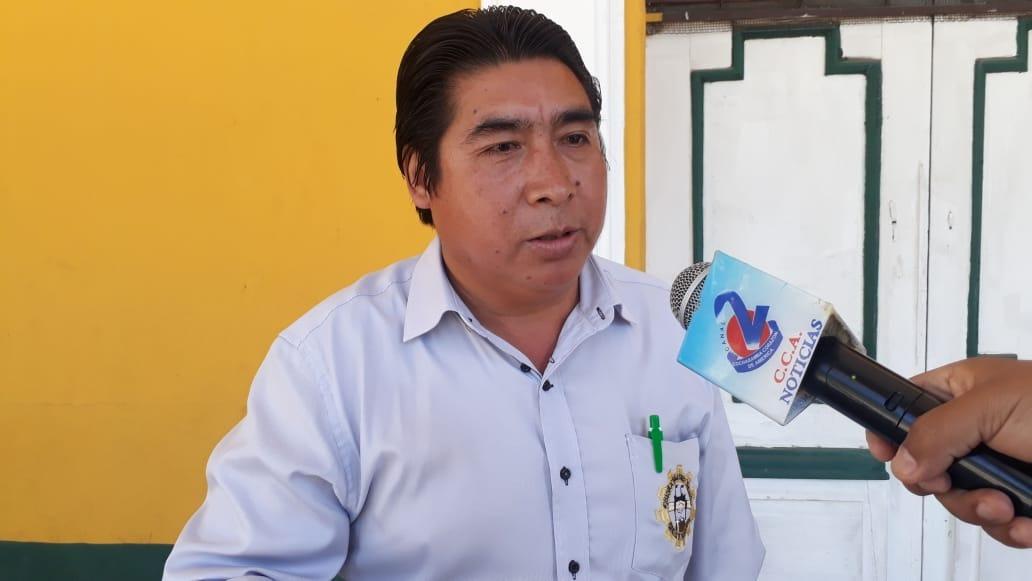El dirigente de los fabriles, Mario Céspedes. ARCHIVO