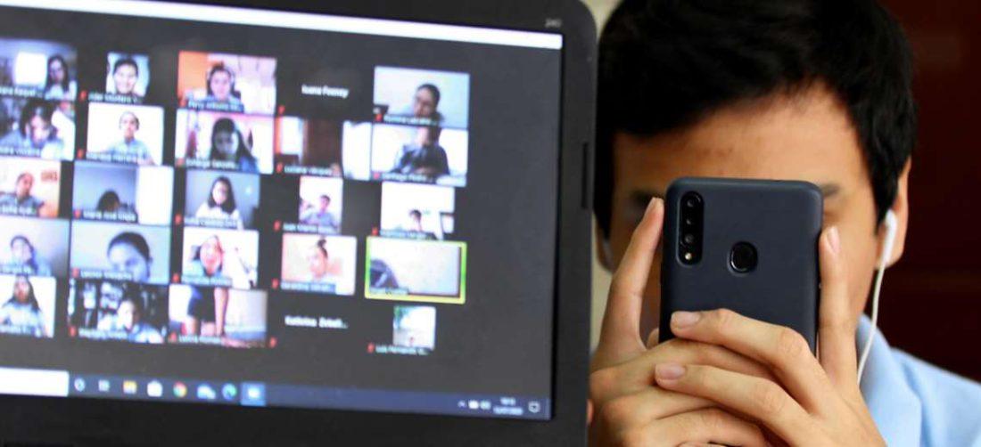 Algunos colegios siguen dictando clases virtuales /Foto: Jorge Ibáñez