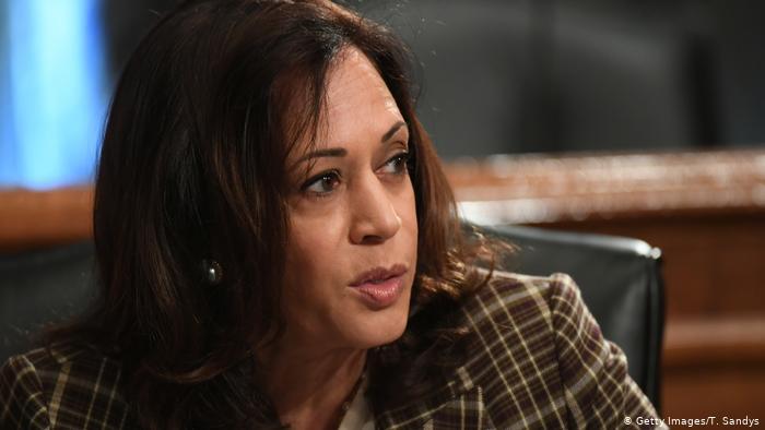 USA Kamala Harris Senatorin Demokratische Partei (Getty Images/T. Sandys)