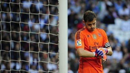 Iker Casillas se fue del Real Madrid en julio del 2015