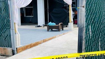 El domicilio donde ocurrió el crimen, en Indiantown, Florida (Crédito: Martin County Sheriff's Office)