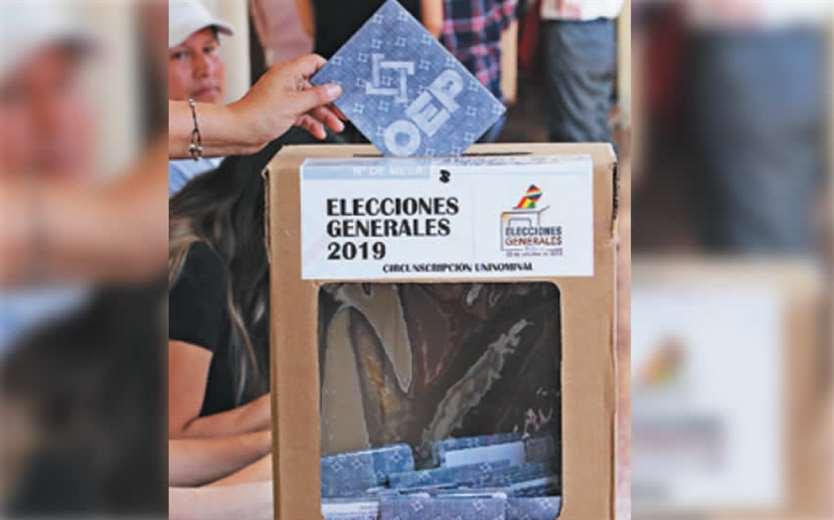 Las pasadas elecciones generales fueron anuladas por fraude