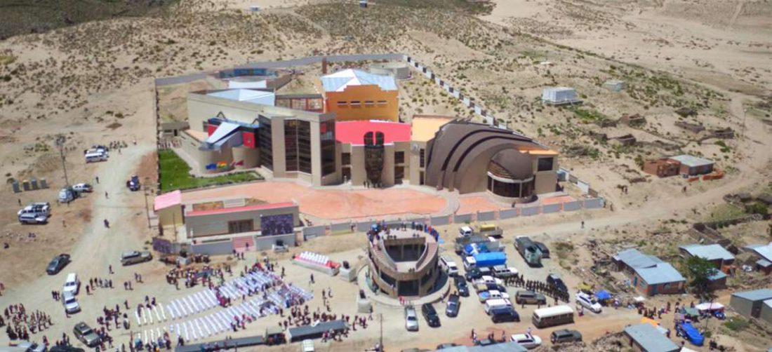El museo se ubica en la localidad de Orinoca, en el municipio de Andamarca (Oruro)