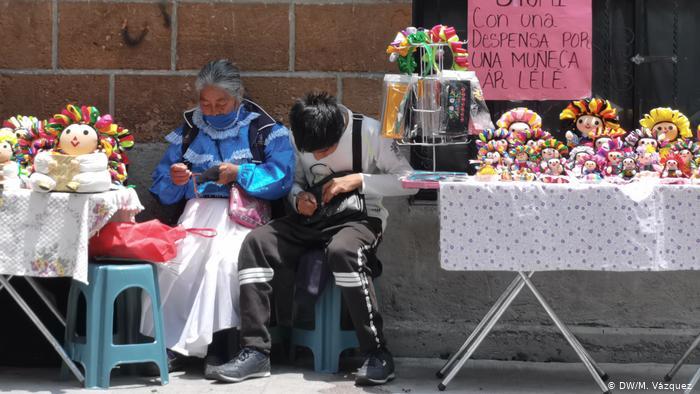 Mexiko | Coronakrise | Indigene Frauen (DW/M. Vázquez )