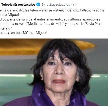 El mensaje de Televisa
